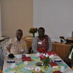 Schwester Yustina Kainegeza,, Sozialarbeiter Dickson Kabakama, Lehrerin Grace Lugaiya und Pfarrer Arnold Mudogo (von links) besuchten die evangelische Frauenhilfe Attendorn  Foto: Karl-Hermann Ernst