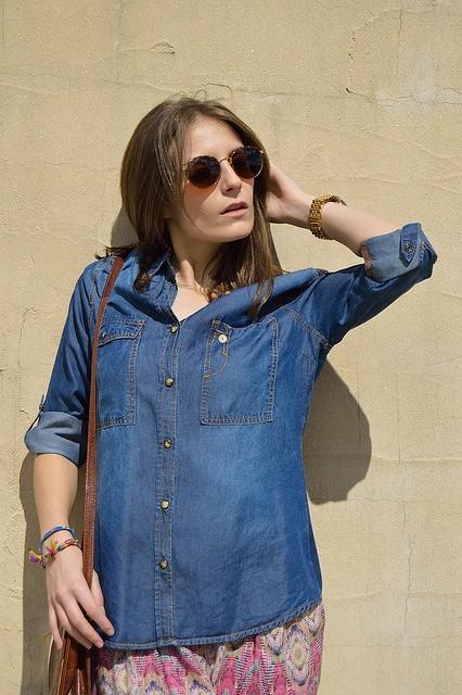 Modetrend Jeansjacke