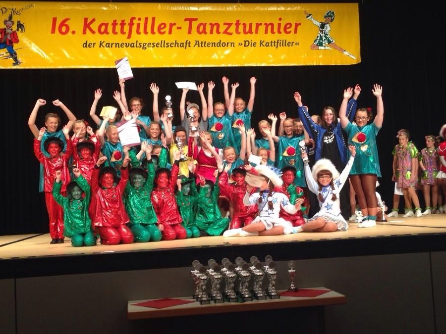 Qualifikation Tanzturnier 2014
