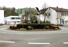 Kreisverkehr - Kölner-Hansa Straße Attendorn