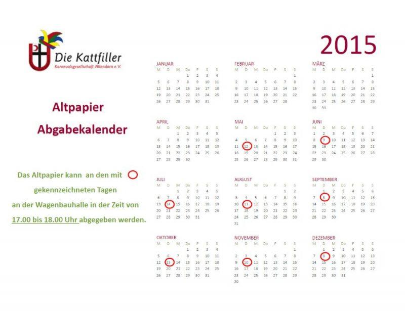 Altpapierkalender-Wagenbauer-2015-Attendorn