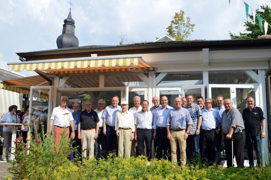 St. Sebastian Confraternität - Einweihung Pavillion Schützenfest 2015