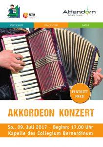Konzert Akkordeon - Musikschule Attendorn
