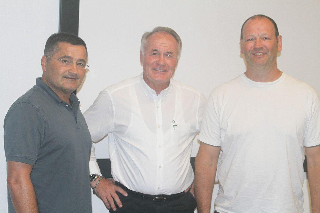 Präsident: Dr. rer. pol. Axel Gösche (Judo-Verband) Vizepräsident: Antonio Barbarino (Taekwondo-Union) (links) Vizepräsident: Thorsten Mesenholl (Kendo-Verband) (rechts)