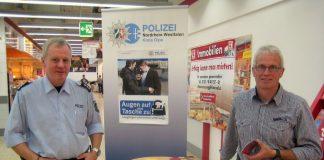 Infostand Kreispolizeibehörde Olpe
