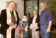 """Einsegnung der Skulptur """"Heilige Mutter Anna"""""""
