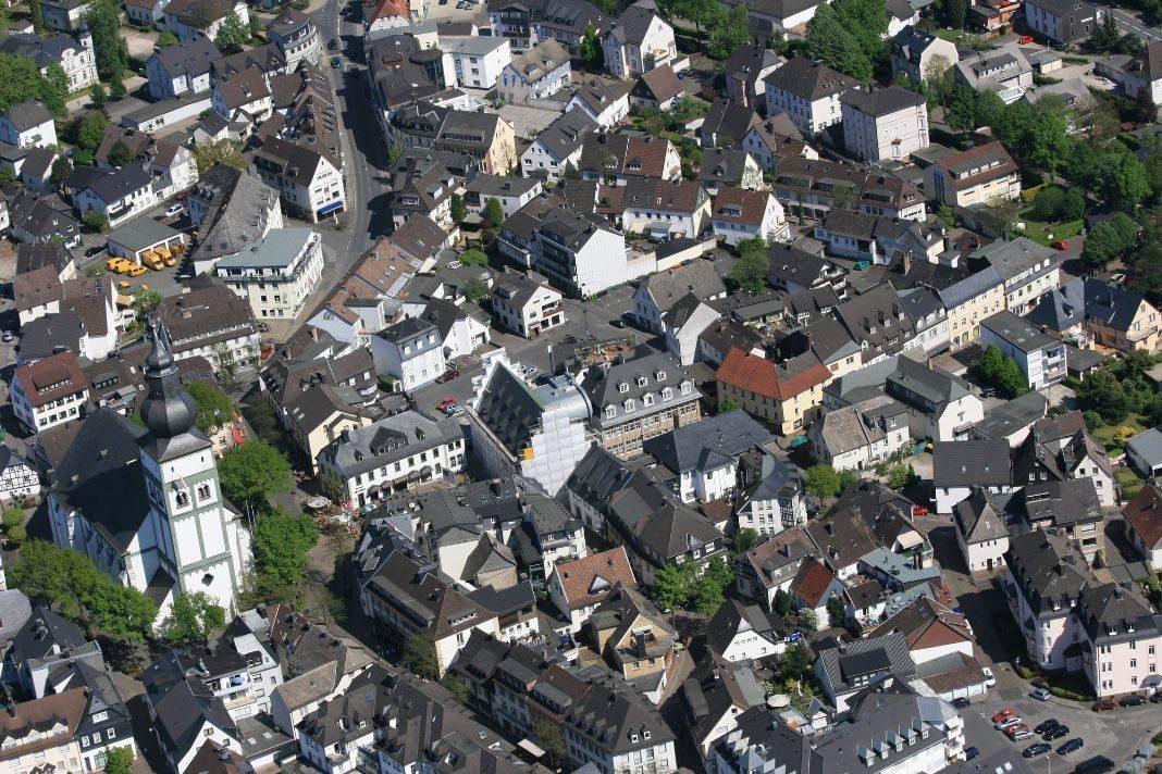 attendorn-innenstadt luftbild