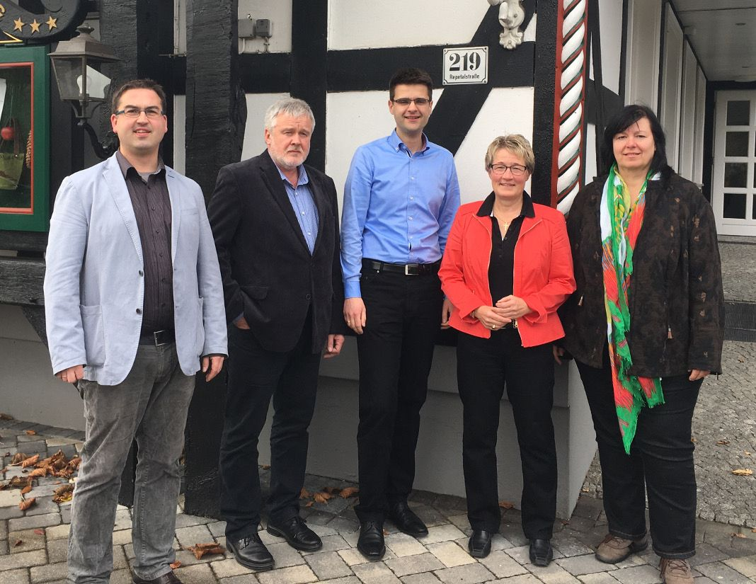 Sebastian Ohm, Rolf Schöpf, Sven Henke, Marion Schwarte, Ursula Stuff