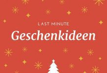 Last Minute-Geschenkideen