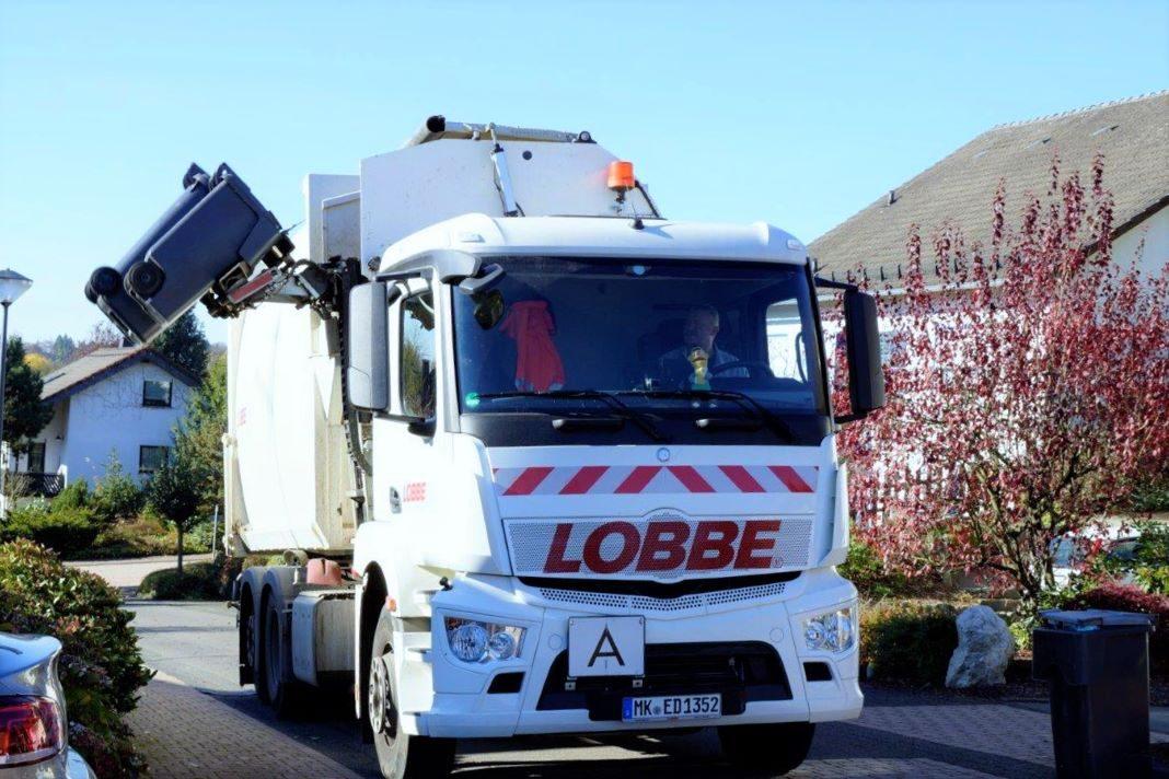 Neue Fahrzeugtechnik Müllabfuhr