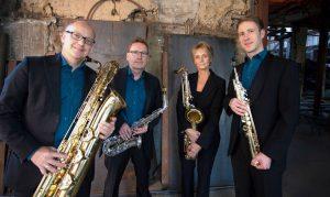 Pindakaas Saxophon Quartett_Foto 1