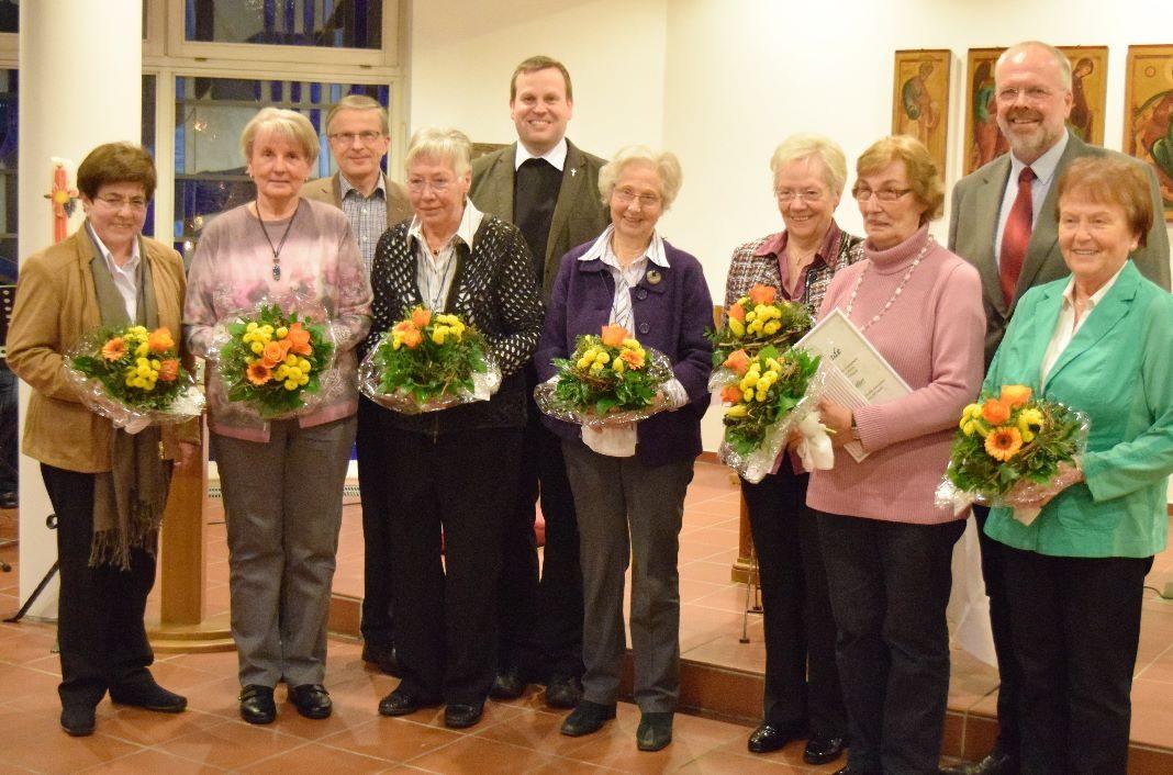 Verleihung des Elisabeth Kreuzes 2016 Attendorn