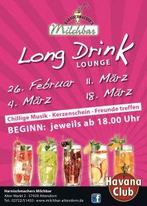 Long Drink Lounge - Harnischmachers Milchbar
