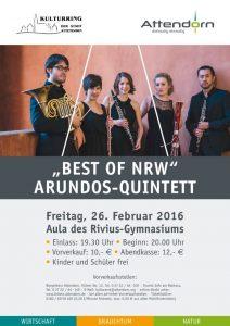 Kulturring Attendorn Arundos-Quintett