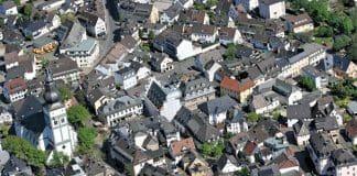Luftbild Attendorn - Innenstadt