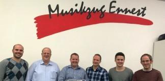 Vorstand Musikzug-Ennest 2016