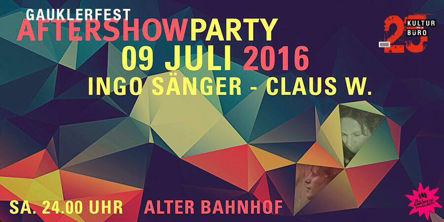 After-Show-Party 2016 - Gauklerfest