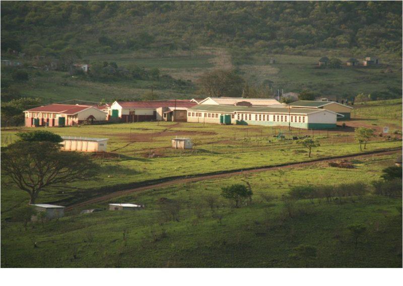 Die Bonga-Schule in Zululand/Südafrika.