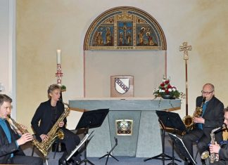 Pindakaas Saxophon-Quartett - Attendorn 2016