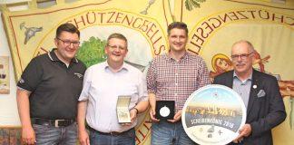 Scheibe - Plaketten 2016 - Schützengesellschaft Attendorn