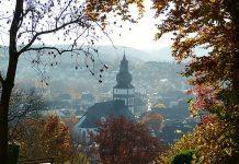 Ein Kino für Attendorn - Attendorner Dom - Blick von der Stadthalle