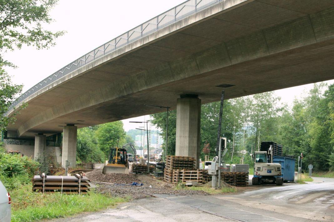 Sanierung Bahnübergang Mühlwiese Attendorn