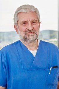 Der Leiter der Intensivstation, Oberarzt Hermann-Josef Mayer (Foto: Kathrin Menke)