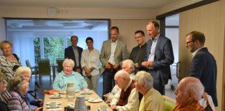Dr. Heider besucht Tagespflege Attendorn