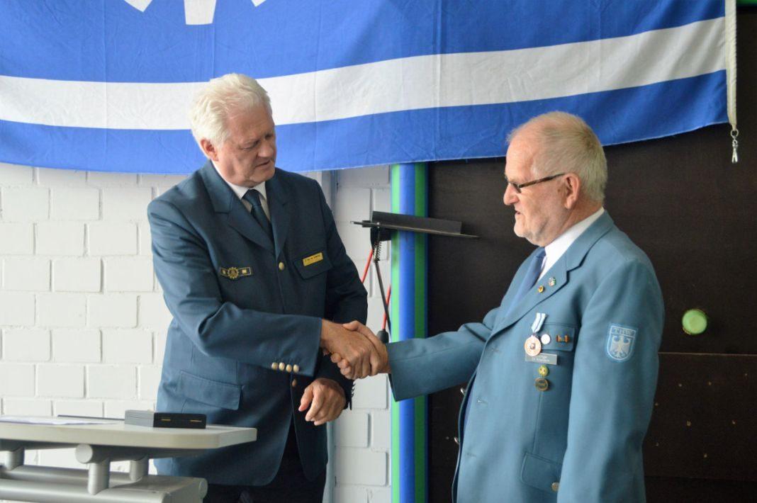 Herbert Lenninger - Ehrung THW Attendorn 2016