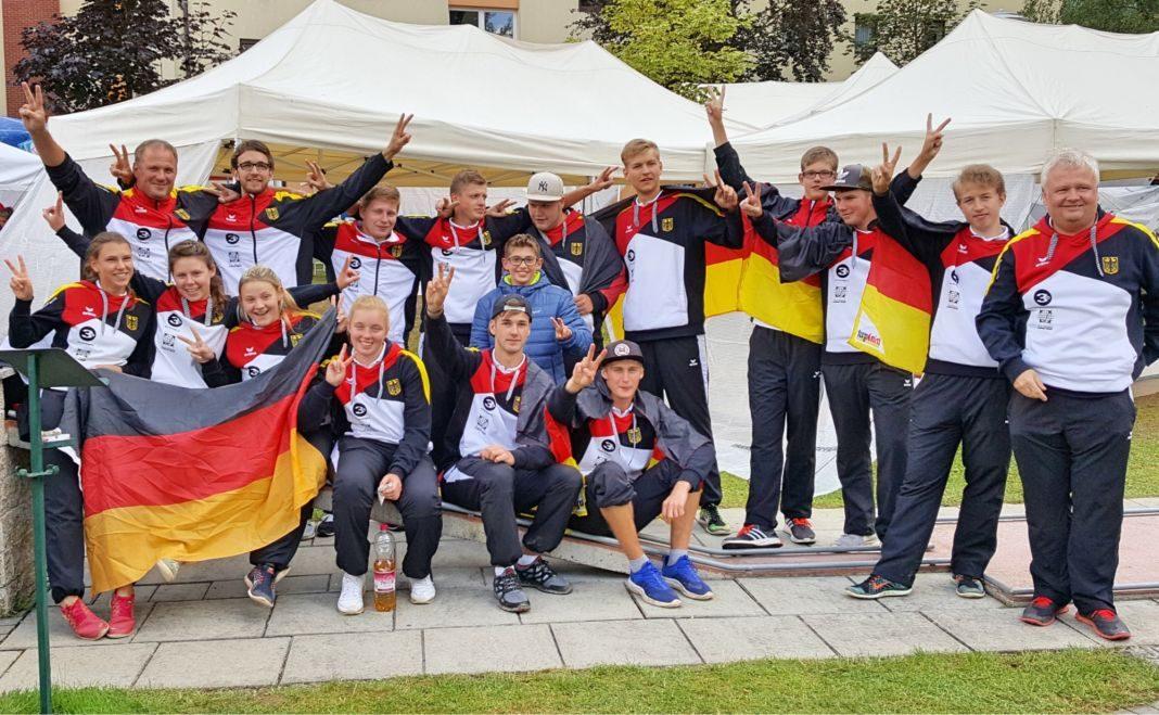 Die U19 Nationalmannschaft Minigolf 2016