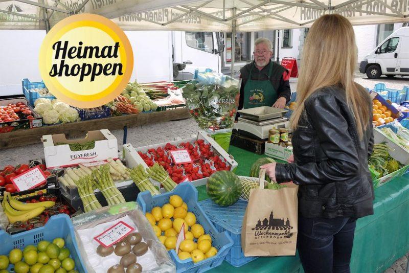 Heimat shoppen - Attendorner Wochenmarkt