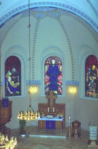 Erlöserkirche innen