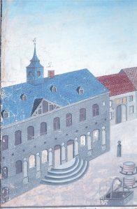 altes rathaus gemälde Südsauerlandmuseum Attendorn