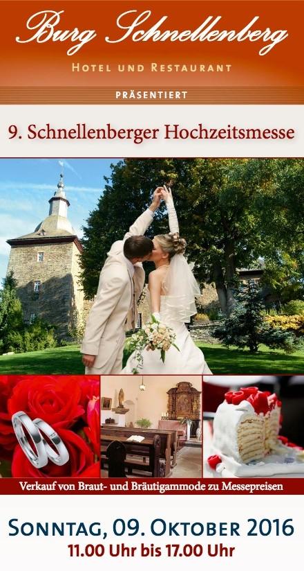 9. Schnellenberger Hochzeitsmesse - Attendorn 2016