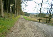"Radweg ""Am Dünneckenberg"""