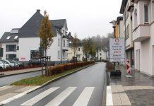 Einseitige Sperrung Bahnhofstraße Attendorn