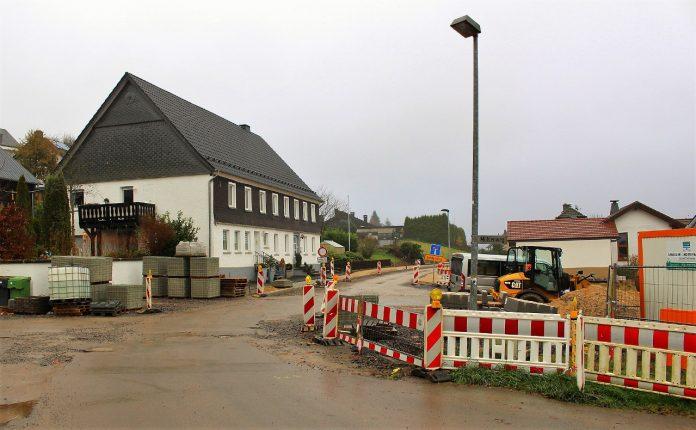 Baustelle Biekhofer Straße - Attendorn 2016