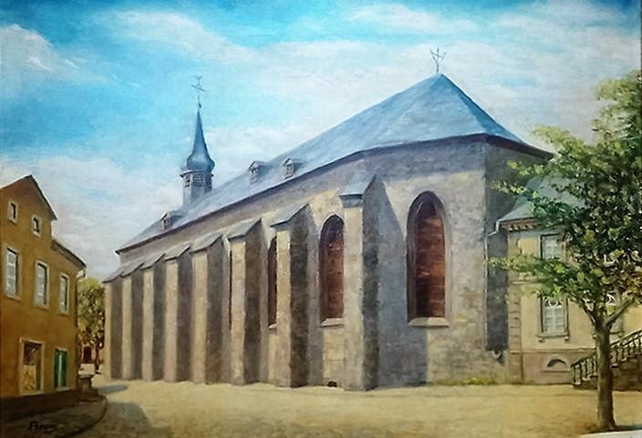 malerisches attendorn - franziskaner kirche