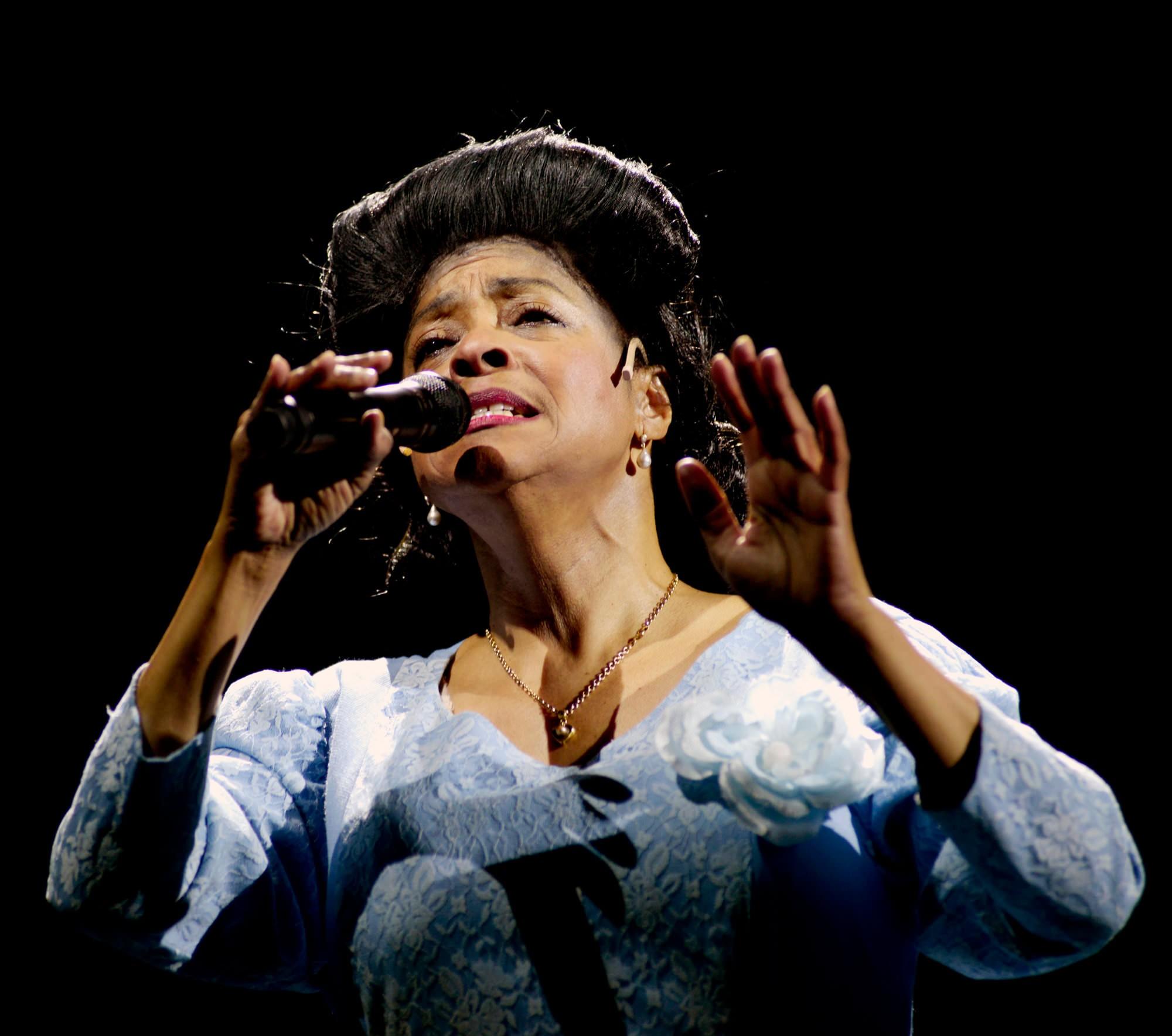 "joan orleans als ""Mahalia"" - Das Musical über das Leben von Mahalia Jackson"