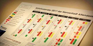 Abfallkalender 2017 Attendorn