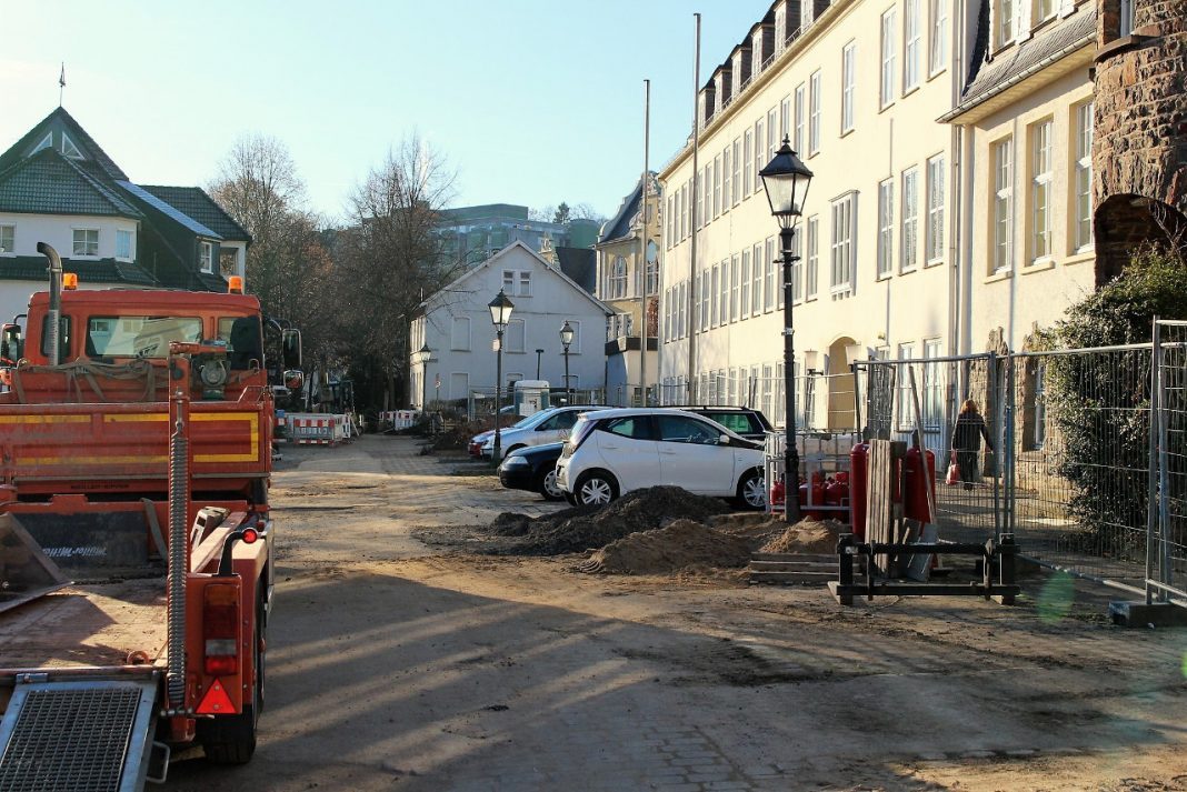 baustelle - umgestaltung westwall - sonnenschule