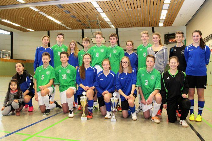 St.-Ursula-Schulen gewinnen spannenden Hallenstadtpokal