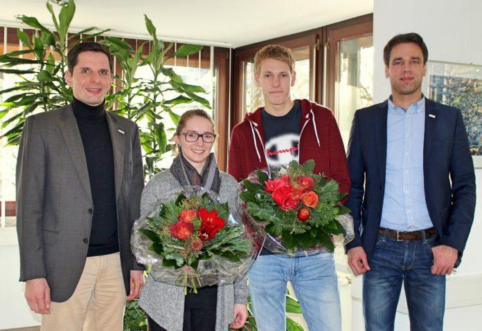 Sandra Schulte und Patrick Schauerte