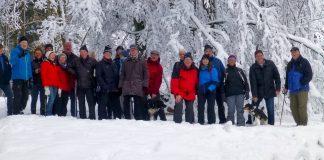 SGV Attendorn mit Bilderbuchstart in die neue Wandersaison