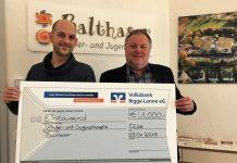 Sanitätshaus Fritzsch spendet für Kinderhospiz