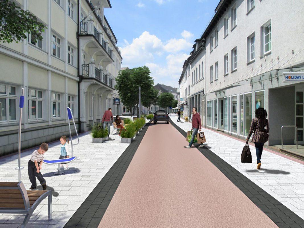 Innenstadtentwicklung Attendorn Umgestaltung Niederste Straße