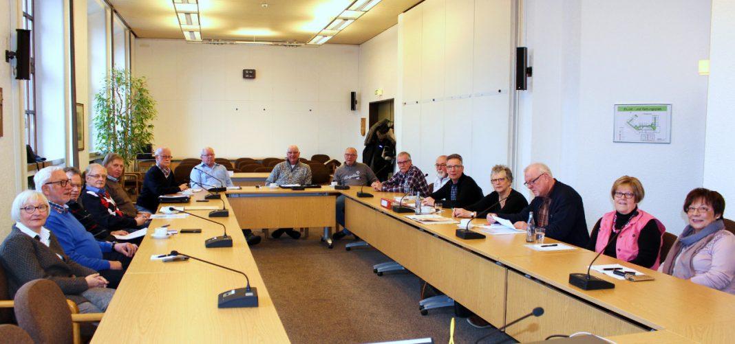 Sitzung Seniorenrat Attendorn Januar 2017