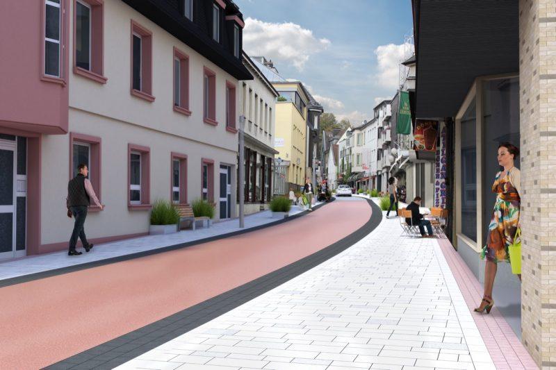 Innenstadtentwicklung Ennester Straße