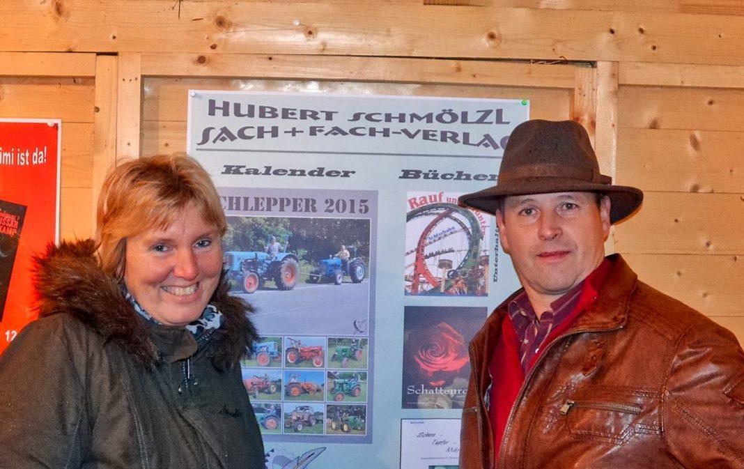 Ellen und Hubert Schmölzl lesen im Studio A