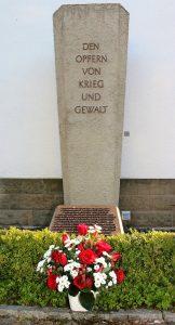 Gedenkstätte Attendorn - Opfer der alliierten Luftangriffe